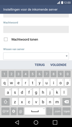 LG LG K10 4G (K420) - E-mail - e-mail instellen: POP3 - Stap 13