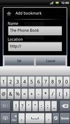 Sony Ericsson Xperia Play - Internet - Internet browsing - Step 8