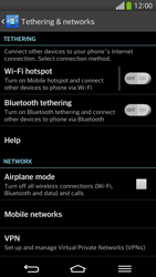 LG D955 G Flex - Network - Usage across the border - Step 5