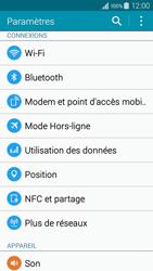 Samsung Galaxy A3 (A300FU) - Internet et connexion - Partager votre connexion en Wi-Fi - Étape 4