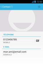 Bouygues Telecom Bs 402 - Contact, Appels, SMS/MMS - Ajouter un contact - Étape 12
