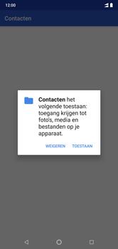 Nokia 7-1 - Contactgegevens overzetten - delen via Bluetooth - Stap 8