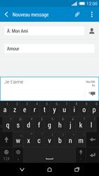 HTC One M8 - MMS - Envoi d