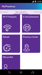 Sony Xperia Z1 Compact D5503 - Applicaties - MyProximus - Stap 20