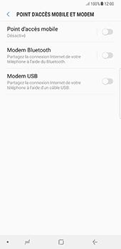 Samsung Galaxy Note 8 - Internet et connexion - Utiliser le mode modem par USB - Étape 8