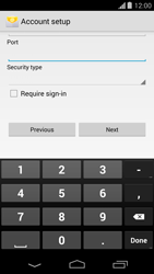Motorola Moto G - Email - Manual configuration - Step 14