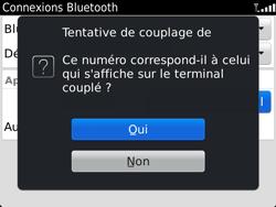 BlackBerry 9900 Bold Touch - Bluetooth - Jumeler avec un appareil - Étape 10