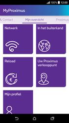 HTC Desire 530 - Applicaties - MyProximus - Stap 17
