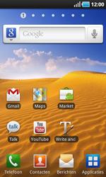 Samsung I9000 Galaxy S - MMS - afbeeldingen verzenden - Stap 1