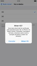 Apple iPhone 6 iOS 9 - Internet no telemóvel - Como ativar 4G -  6