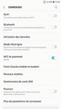 Samsung Galaxy J7 (2017) - Wi-Fi - Accéder au réseau Wi-Fi - Étape 5