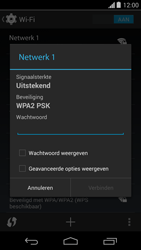 Motorola Moto G - WiFi - Handmatig instellen - Stap 8