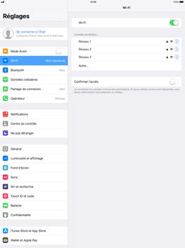 Apple Apple iPad Pro 12.9 - iOS 11 - WiFi et Bluetooth - Configuration manuelle - Étape 5