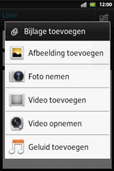Sony ST27i Xperia Go - E-mail - E-mails verzenden - Stap 10