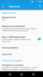 Sony Xperia Z3 Plus - Segurança - Como ativar o código de bloqueio do ecrã -  12