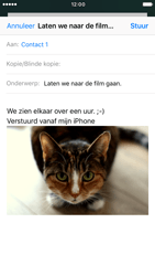 Apple iPhone 7 - E-mail - hoe te versturen - Stap 14