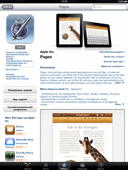 Apple iPad - Applicaties - Downloaden - Stap 9