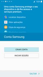 Samsung Galaxy S6 Edge - Primeiros passos - Como ligar o telemóvel pela primeira vez -  16