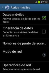 Samsung S6310 Galaxy Young - Mensajería - Configurar el equipo para mensajes multimedia - Paso 6