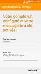Alcatel U5 - E-mails - Ajouter ou modifier un compte e-mail - Étape 22