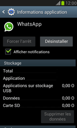 Samsung Galaxy S3 Mini - Applications - Supprimer une application - Étape 6