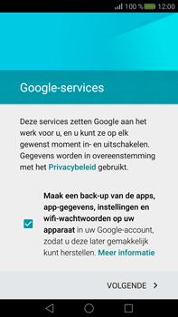 Huawei Mate S - E-mail - handmatig instellen (gmail) - Stap 14