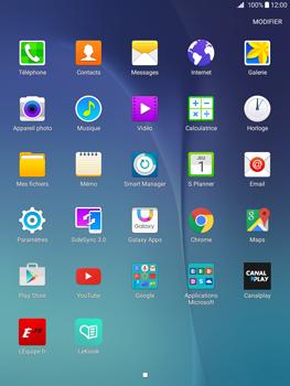Samsung Galaxy Tab A - Internet et connexion - Accéder au réseau Wi-Fi - Étape 3