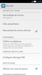 Bouygues Telecom Ultym 4 - Sécuriser votre mobile - Activer le code de verrouillage - Étape 5