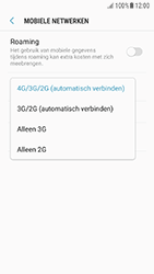 Samsung A310F Galaxy A3 (2016) - Android Nougat - Netwerk - Wijzig netwerkmodus - Stap 7