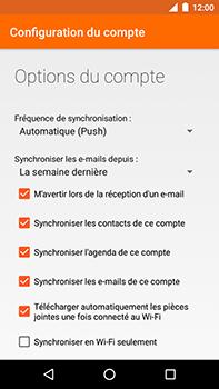 Motorola Moto E4 Plus - E-mails - Ajouter ou modifier votre compte Outlook - Étape 9