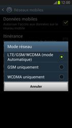 Samsung Galaxy S3 4G - Internet et connexion - Activer la 4G - Étape 7