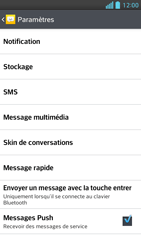LG P875 Optimus F5 - SMS - configuration manuelle - Étape 6