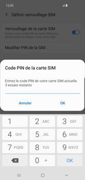 Samsung Galaxy S10 Plus - Sécurité - modifier SIM PIN - Étape 8