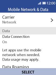 Nokia 8110 Banana - Network - Usage across the border - Step 5