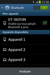Samsung S6310 Galaxy Young - Bluetooth - connexion Bluetooth - Étape 9