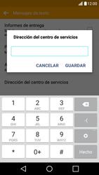LG K10 4G - Mensajería - Configurar el equipo para mensajes de texto - Paso 8
