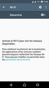Sony Xperia L1 - Internet et connexion - Accéder au réseau Wi-Fi - Étape 5