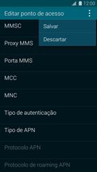 Samsung G900F Galaxy S5 - Internet (APN) - Como configurar a internet do seu aparelho (APN Nextel) - Etapa 15