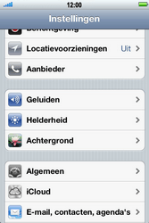 Apple iPhone 3G S met iOS 5 - Internet - Handmatig instellen - Stap 3