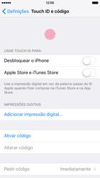Apple iPhone 6s - Segurança - Como ativar o código de bloqueio do ecrã -  4