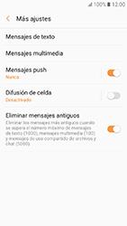 Samsung Galaxy A3 (2017) (A320) - Mensajería - Configurar el equipo para mensajes de texto - Paso 7