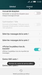 Huawei Y635 Dual SIM - SMS - Configuration manuelle - Étape 8