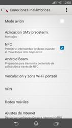 Sony Xperia E4g - Funciones básicas - Activar o desactivar el modo avión - Paso 5