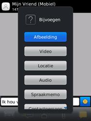 BlackBerry 9800 Torch - MMS - Afbeeldingen verzenden - Stap 9