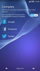 Sony Xpéria T3 - Premiers pas - Créer un compte - Étape 8