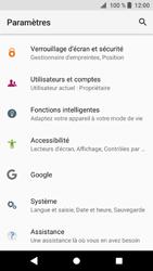 Sony Xperia XZ1 - Device maintenance - Retour aux réglages usine - Étape 5
