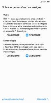 Huawei P Smart - Primeiros passos - Como ligar o telemóvel pela primeira vez -  9