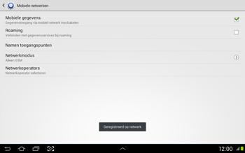 Samsung N8020 Galaxy Note 10-1 LTE - Buitenland - Bellen, sms en internet - Stap 11