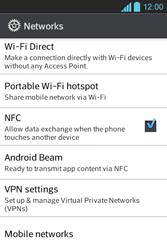LG E610 Optimus L5 - Internet - Enable or disable - Step 5