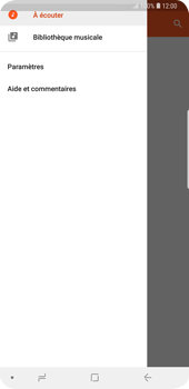 Samsung Galaxy S9 Plus - Photos, vidéos, musique - Ecouter de la musique - Étape 7